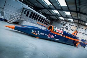 How to build a world land speed record car