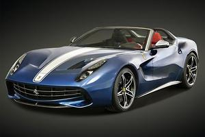 Ferrari F12 goes topless – for a few
