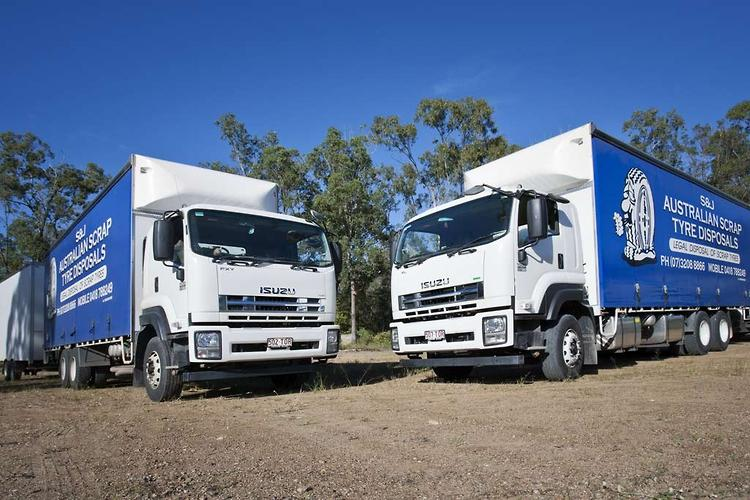 Qld tyre disposal business expands Isuzu fleet