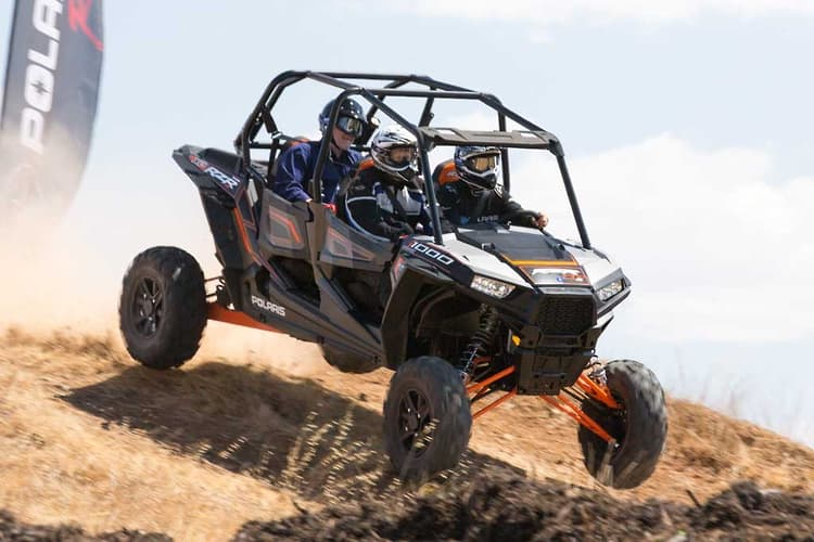 Launch: Polaris ATV and side-by-sides