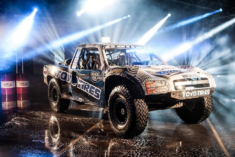 Trophy trucks like you've never seen them